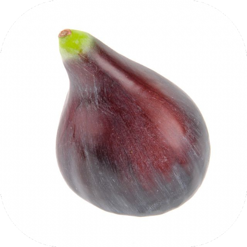 Artificial Fruit Fig x 2